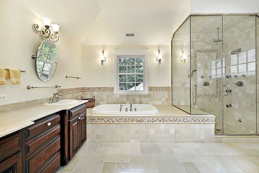 Limestone Bathroom Artsaics By Nelson