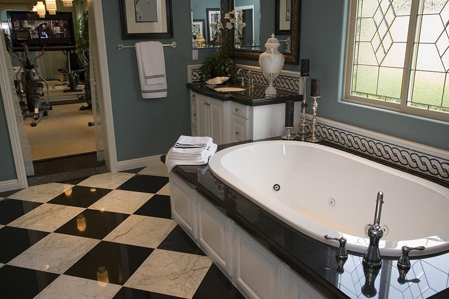 Bathroom Mosaics And Waterjet Designs Gallery Of