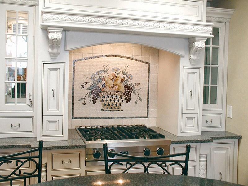 Cucina Arni Fruit Mosaic Mural