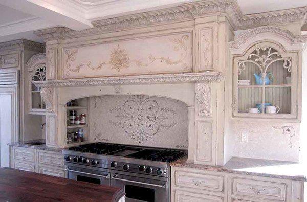 Cucina Tunja Ornamental Mural