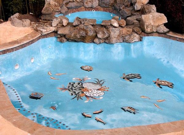 Custom Reef Mosaic