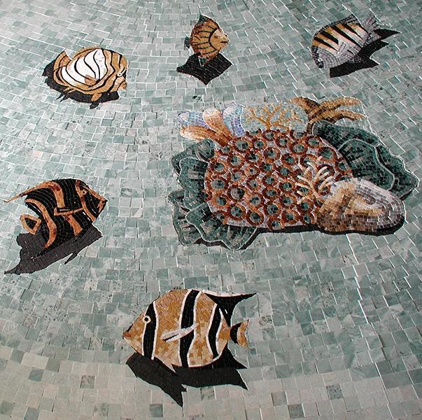 Fish Pool Mosaic