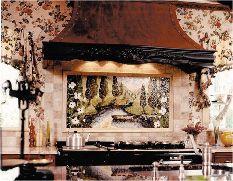 Glow Tiami Glass Scene Mosaic