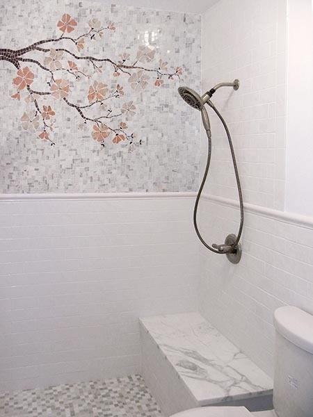 Mermaid Shower Tile