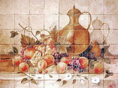 8 Excellent Examples Of Using Kitchen Fruit Tiles In A Remodel
