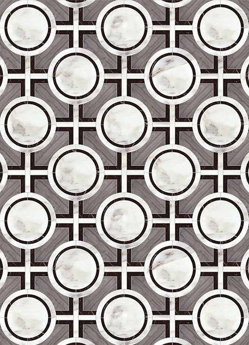 Black and White Tile Designs