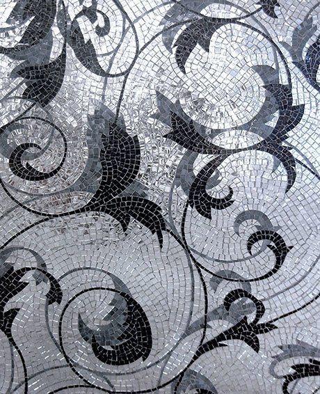 Metal Glass Tile