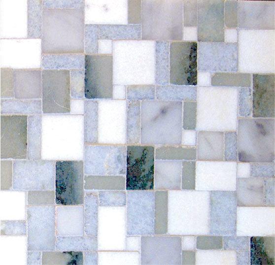 Studio Quad Stone Mosaics Versailles Mosaic Blends