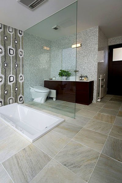 Bathroom Tile Colour Schemes