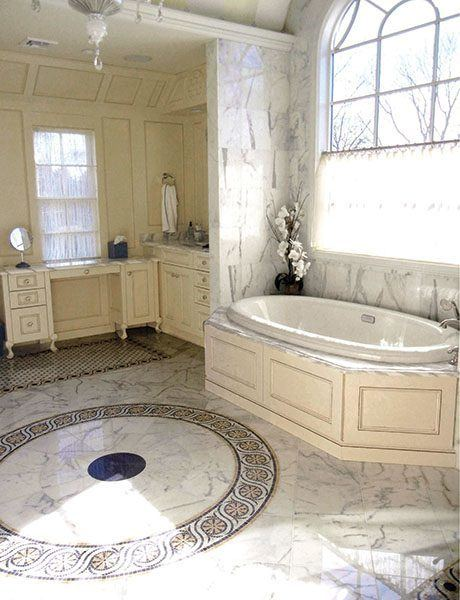 Calacatta Bathroom Floor