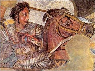The Battle of Alexander - Mosaic from Pompeii