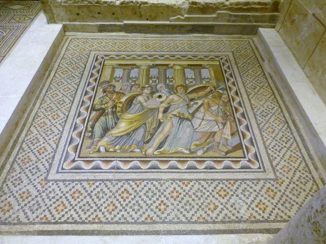 zeugma museum mosaic
