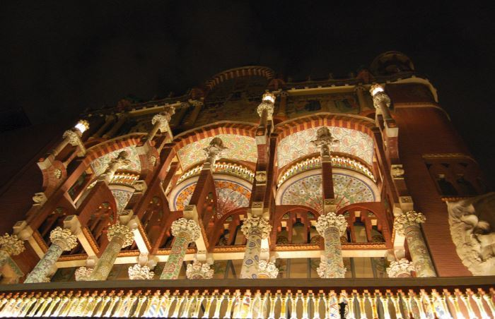 Tiled Columns