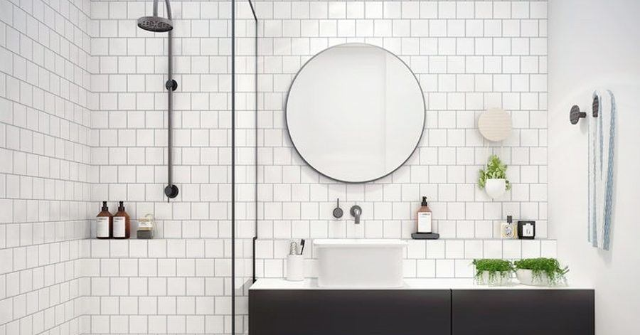 How to use accent tiles tile borders to enhance your luxury bathroom - How to enhance your home with glass tiling ...