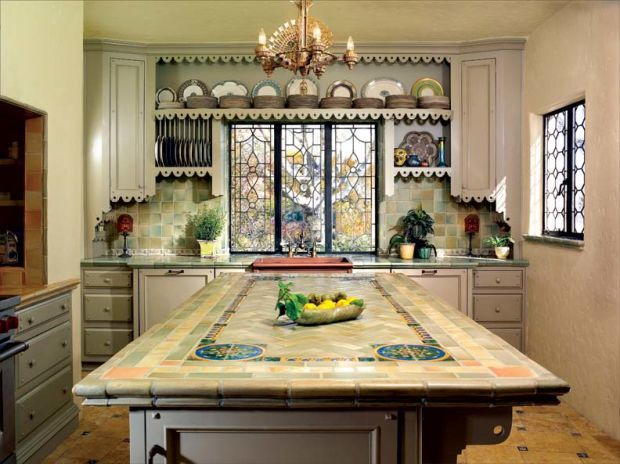 Kitchen Island Countertop Ideas | 5 Mosaic Countertop Ideas To Make Your Kitchen Stand Out